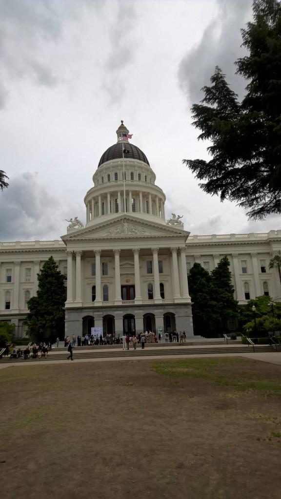 Das Capitol in Sacramento.