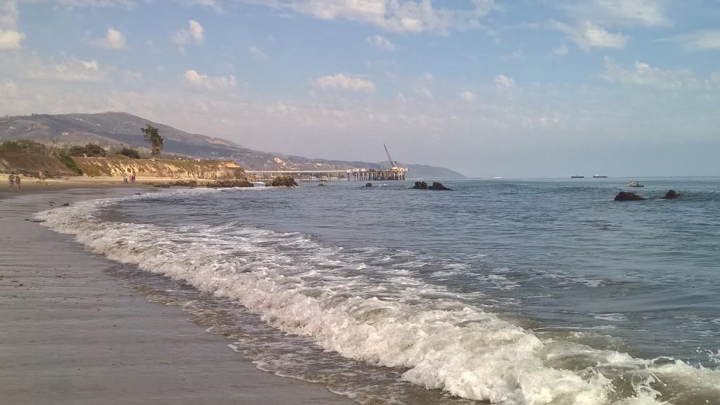Die Küste von Carpinteria