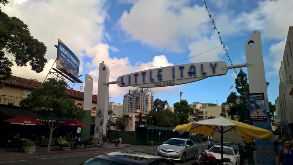 """Der Stadtteil """"Little Italy"""""""